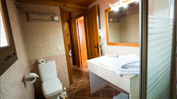 Habitación doble estandar baño